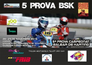 Poster Circuit Magaluf1 Prova