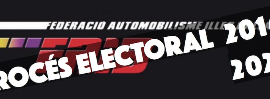 """<a href=""""http://www.fa-ib.com/2016/09/proceso-electoral-faib-2016-2020/""""><b>PROCESO ELECTORAL FAIB 2016-2020</b></a><p>Con la celebración de la reunión de la Junta Directiva de la Federació d'Automobilisme de les Illes Balears el pasado mesde agosto, se dió inicio al proceso electoral para la</p>"""