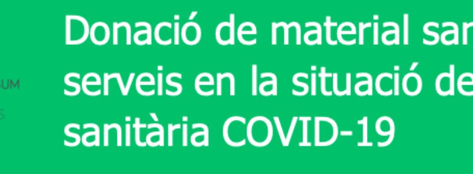 """<a href=""""http://www.fa-ib.com/2020/03/donacion-de-material-sanitario-en-la-situacion-de-crisis-sanitaria-covid-19/""""><b>DONACION DE MATERIAL SANITARIO EN LA SITUACION DE CRISIS SANITARIA COVID-19</b></a><p>En el contexto de la crisis sanitaria actual por la pandemia de COVID-19, el Servei de Salut de les Illes Balears hace un llamamiento urgente para solicitar material sanitario y</p>"""
